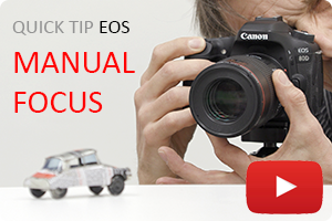 Quick Tip EOS | Manual Focus