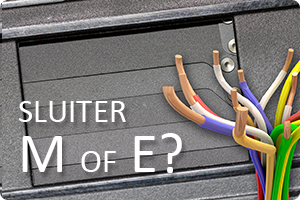 Sluiter | M of E?