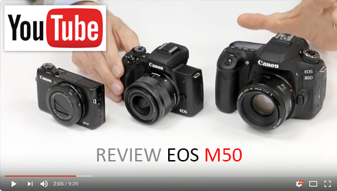 Review EOS M50