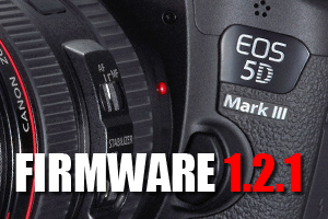 Firmware 1.2.1 EOS 5D mark III
