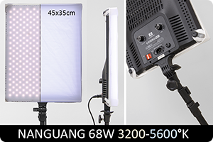 Review | Nanguang LED-panelen
