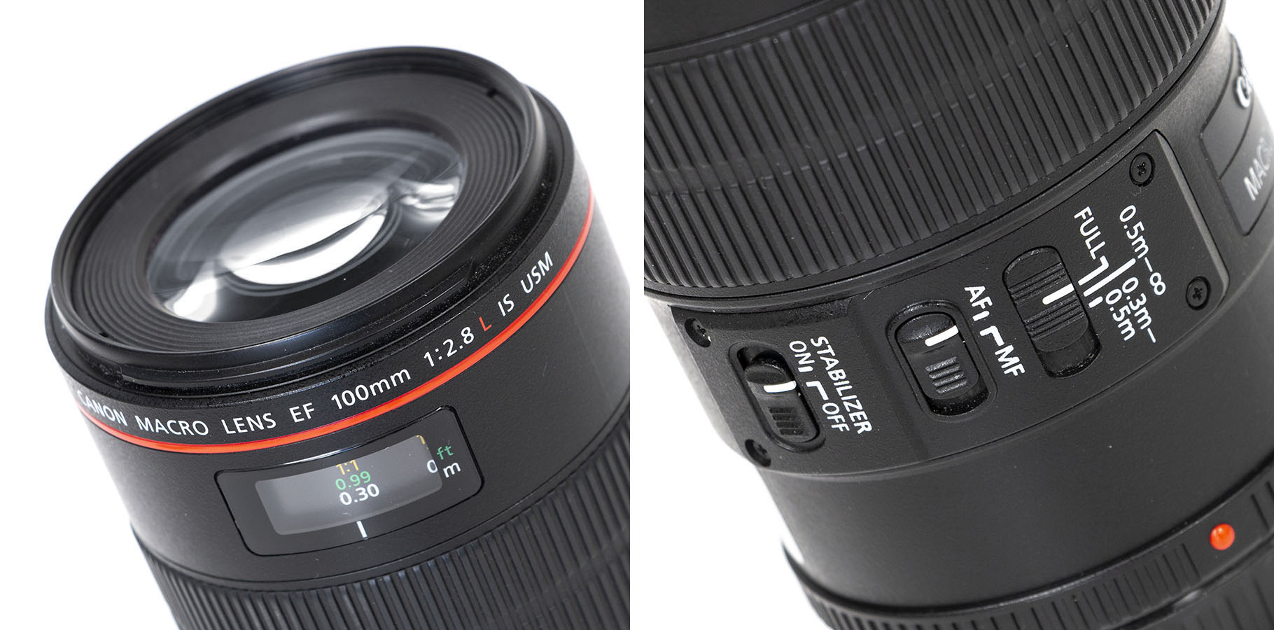 EF100mm28LIS-detail