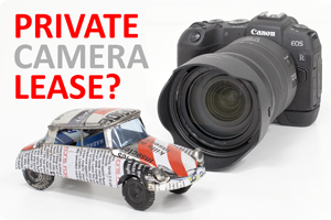 Blog Pieter | Private camera-lease