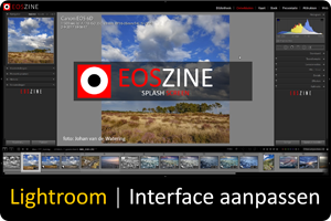 Lightroom | Interface aanpassen