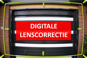 Digitale lenscorrecties en EVF
