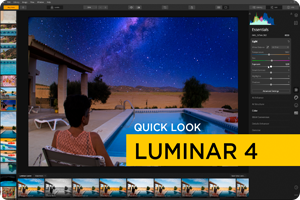 Quick look | RAW met Luminar 4