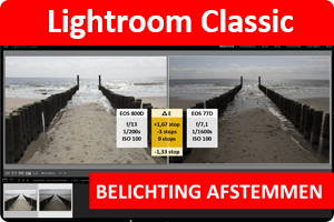 Lightroom | Belichtingen afstemmen