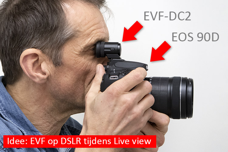 EVF-Live-view