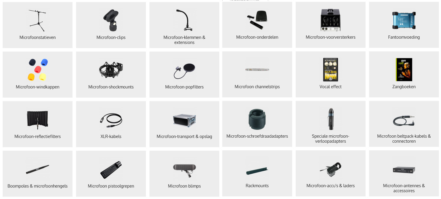 microfoon-accessoires