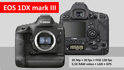 EOS 1DX mark III