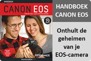 Hanboek Canon EOS 2e button