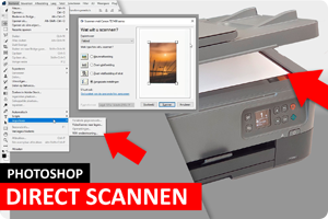 Photoshop | Direct scannen