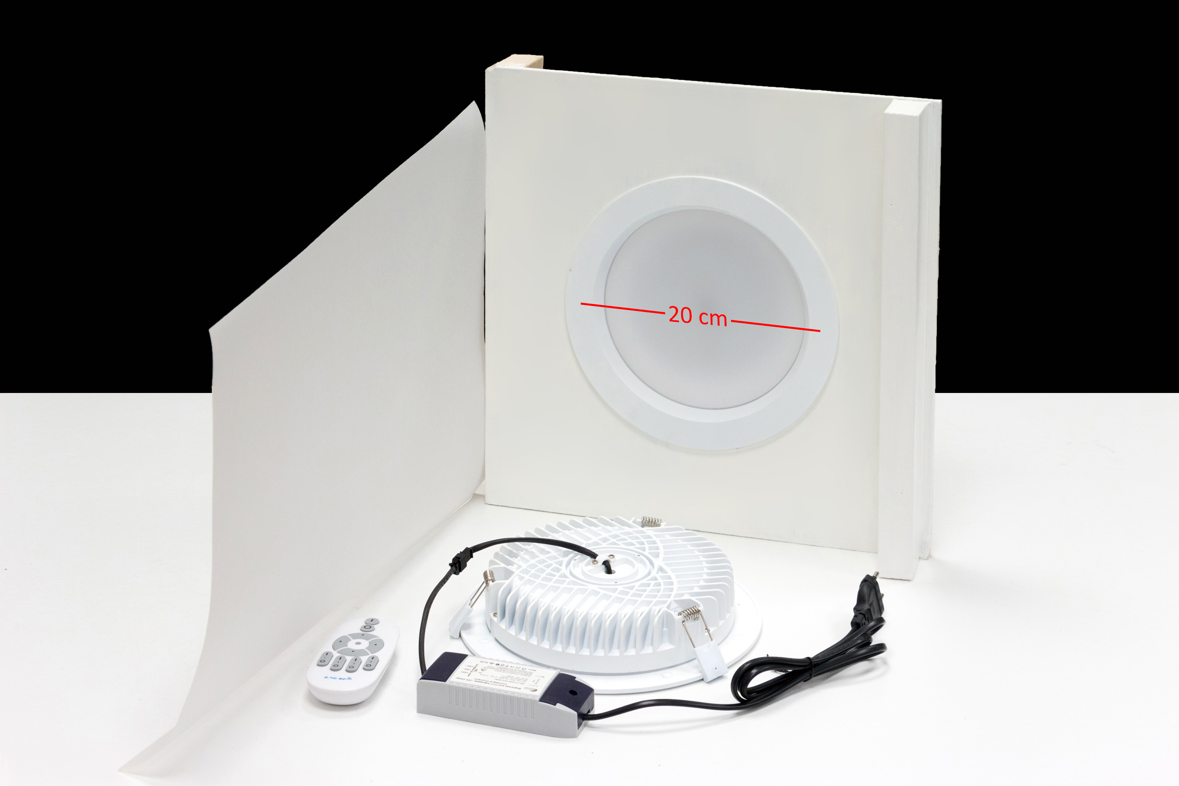 Led Lampen Kleurtemperatuur : Led downlights dhz productfotografie