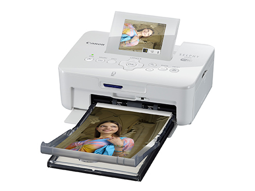 SELPHY CP910 FSL LCD up paper tray White-285px